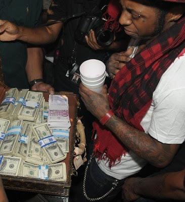 Lil wayne s cash money millionaire b day the insomniac zone