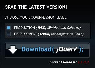 jQuery download