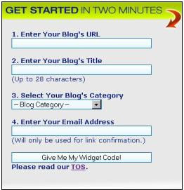 Enter blog details to submit to trafficmomentum