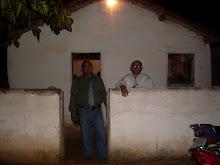Congregação em casebre de pau-a-pique no bairro Sereno, em Ocara