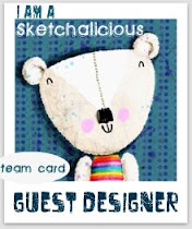 Guest Designer su Sketchalicious :)