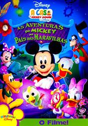 Baixe imagem de A Casa do Mickey   As Aventuras do Mickey no País das Maravilhas (Dublado) sem Torrent