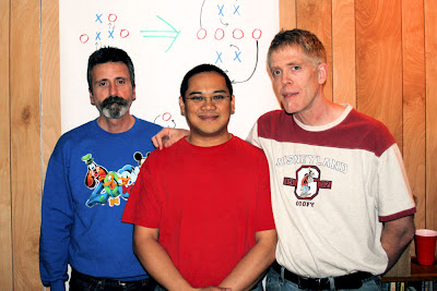 Michael, Mein, and me at last weekend's C1 Workshop