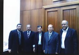 لقاء فريق العمل مع اللواء عادل لبيب - محافظ الإسكندرية
