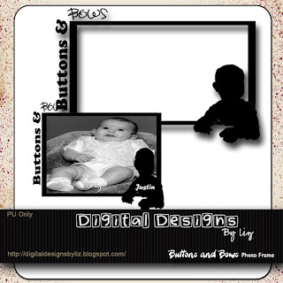 http://digitaldesignsbyliz.blogspot.com/2009/05/buttons-and-bows-photo-frame.html