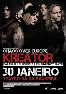 Kreator, Porto
