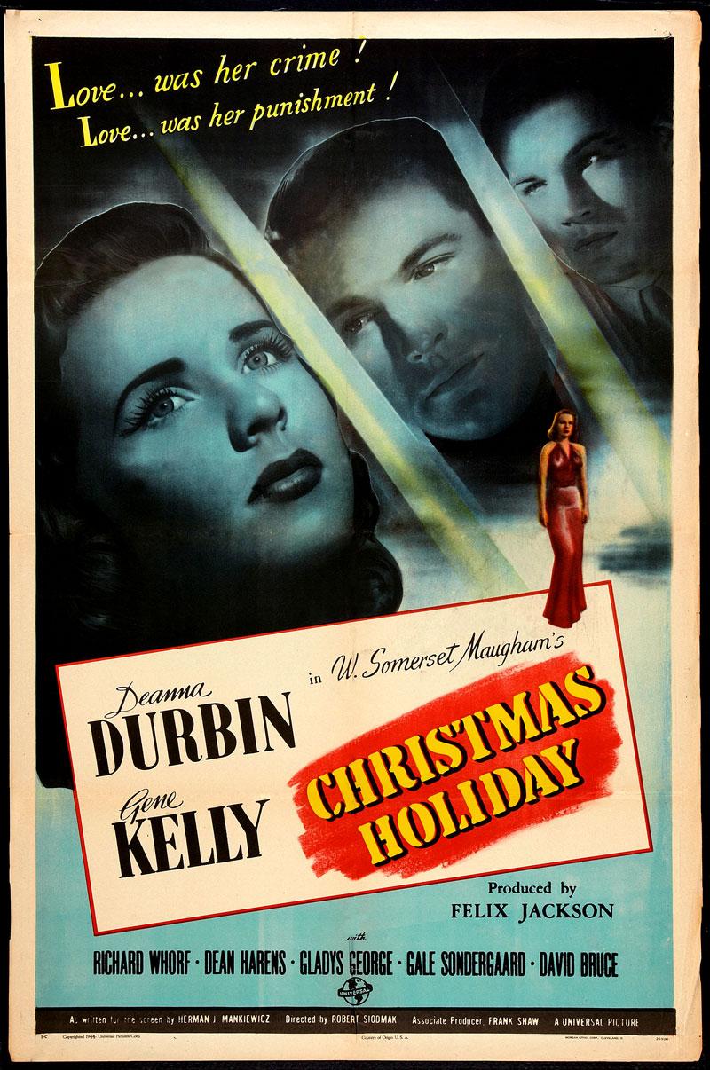 Christmas Holiday 1944 Youtube