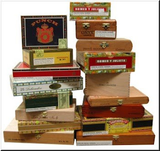 cigar box assemblage
