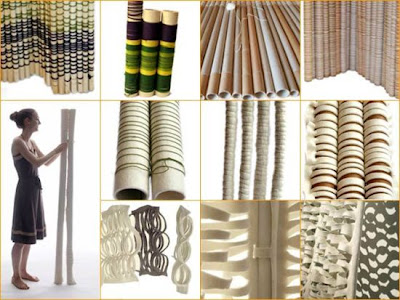 Comparte tus ecoideas febrero 2010 - Biombos de carton ...