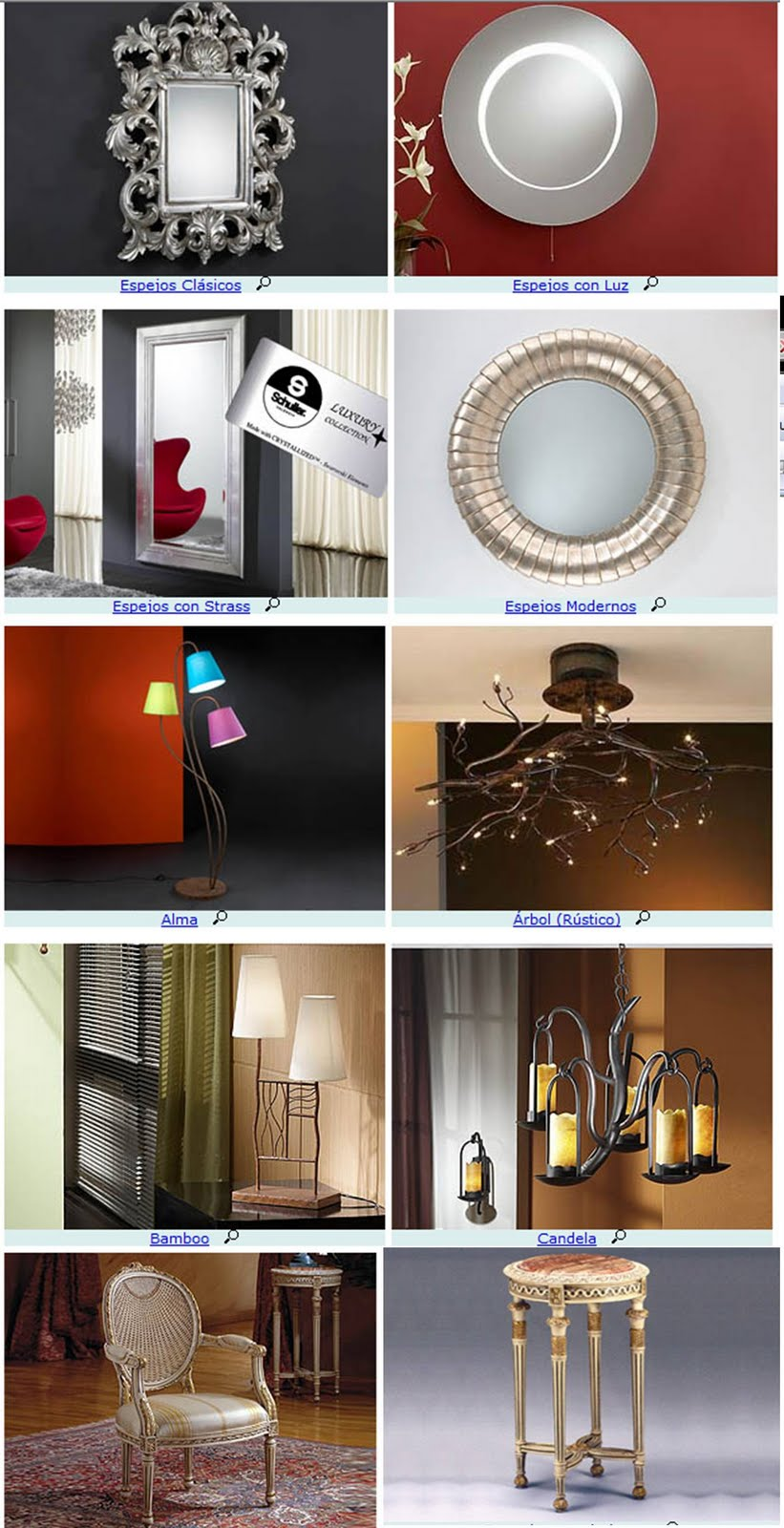 Muebles enrique mor n schuller iluminaci n - Enrique iluminacion ...