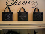 Rustic Black Plaques/ set of 3