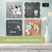 Stampin' Up! Definitley Decorative Catalog
