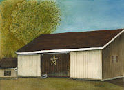 Barn with Star