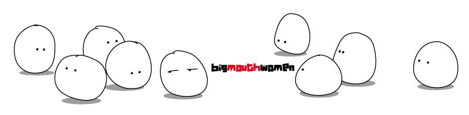 big mouth women