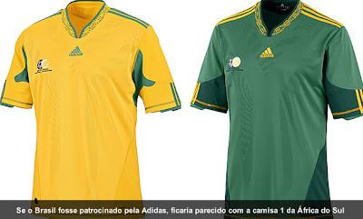 Blog da Chuleta  As camisas das Seleções da Copa do Mundo 2010! fad0ac1ad2cb1