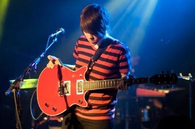 Sara Quin - Red Guitar, Tegan and Sara, Aspen, Colorado