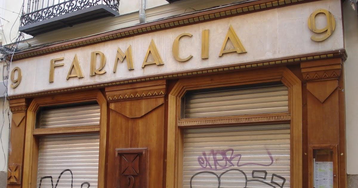 Madrid art dec farmacia for Arquitectura franquista