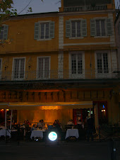 Arles, at Van Gogh cafe Nuit