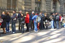 Sainte-Chapelle, Paris- fast track admittance line