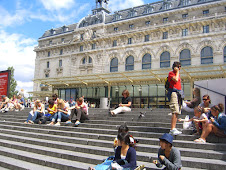 Musee D'Orsay, Janice and the caterpillar