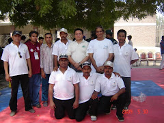 Tech.Official for 12th Sindh Games 2009