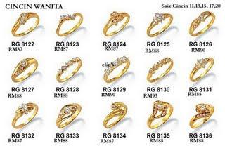 Bisnis Perhiasan Emas: Koleksi Surya Cincin