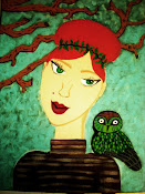 Girl and Owl.