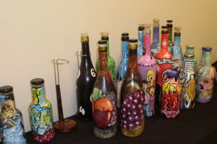 How To How To Paint On Wine Bottles