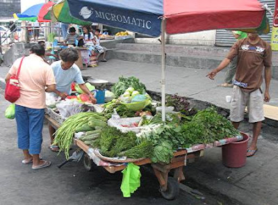 vegetable cart
