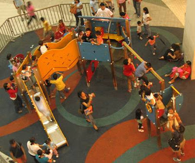 play area in Trinoma