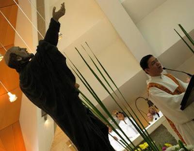 ordination of Jason K. Dy, SJ into the diaconate on September 13, 2008