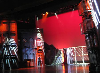 stage of the 2008 production of West Side Story in Manila