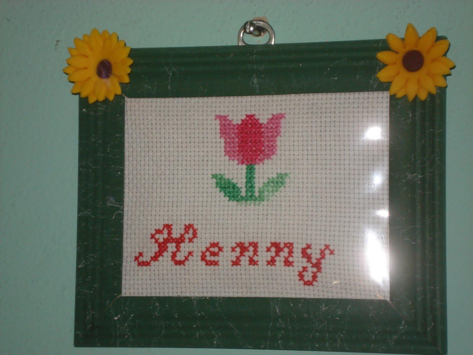 Casa de Lola artesanato: MINHA AMIGA HENNY