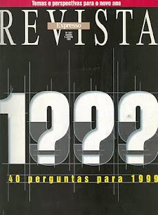 Revista Expresso - 1999