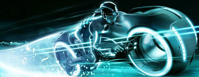 The race is on in TRON: LEGACY