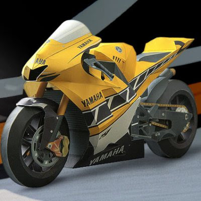 Yamaha Bike PaperCraft