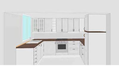 Kjøkkentegning