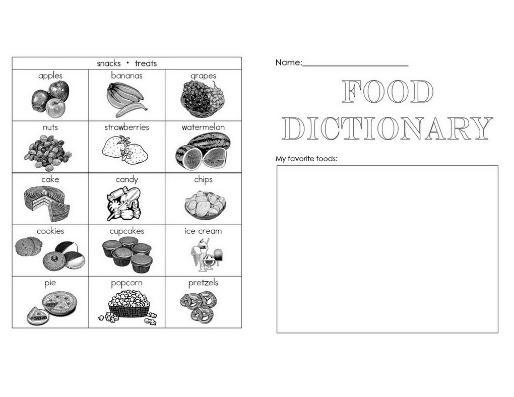 Food: food dictionary for students