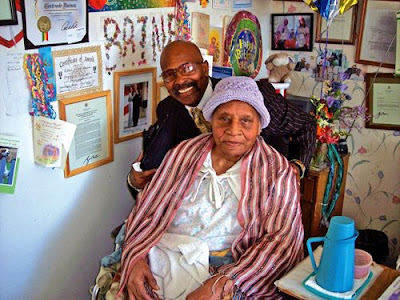 Gertrude Baines, the current world's oldest living person recognized by Guiness World Records