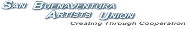 San Buenaventura Artists' Union and Artists Union Gallery Blog