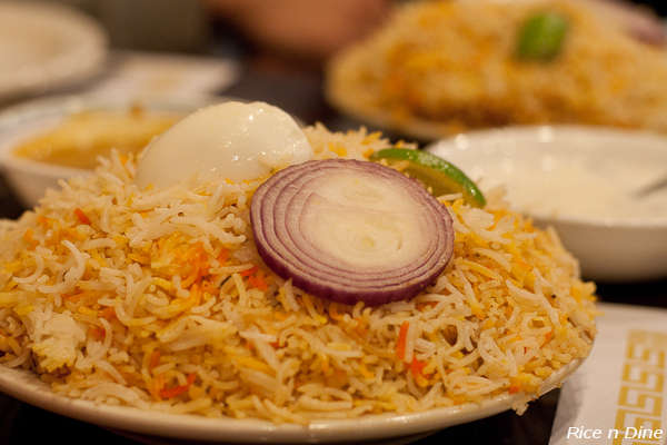 Hyderabadi Chicken Biryani, Paradise Biryani Pointe