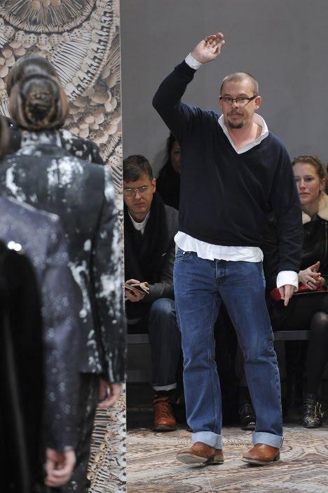 Британский модельер Александр Маккуин