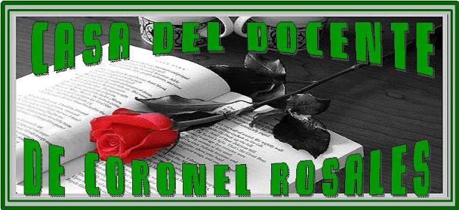 CASA DEL DOCENTE DE CORONEL ROSALES