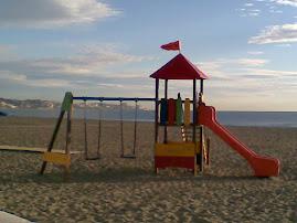Columpios en la playa