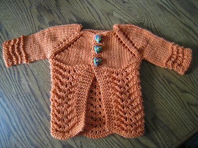 Lillie Baby Cardigan - Free Pattern!