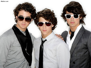 Cantores do mês - Jonas Brothers