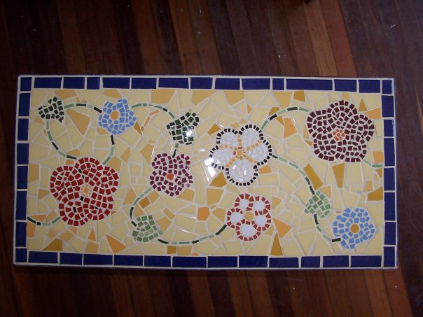 Mosaic Tile Table Kit Mosaic Tile Table Tops Round