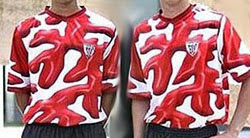 Athletic de Bilbao, uniforme alternativo 2005
