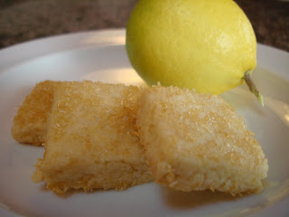 Recipe: Lemon shortbread cookies for Mom