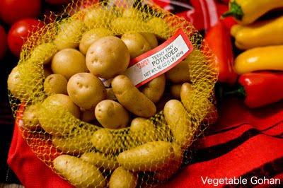 Teeny-Tiny Potatoes | Japanese Superfood Vegetable Gohan